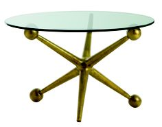 Jack Cocktail Table by Arteriors #aluminum #games #toys