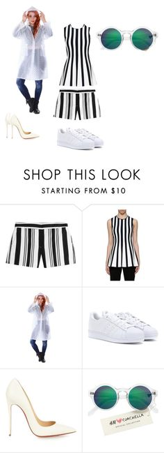 """""""final look"""" by nishadnancy on Polyvore featuring Theory, Alexander Wang, adidas, Christian Louboutin and H&M"""