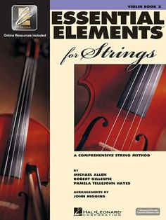 Essential Elements for Strings - Book 2 with EEi: Violin by Robert Gillespie