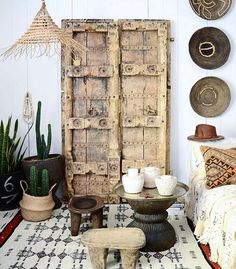Loving all things rustic and tribal at the moment & this space is just perfection @apartmentf15