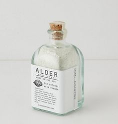 Alder's Natural Hair Powder, $32, is the BEST dry shampoo.