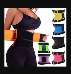 WEIGHT LOSS & PREVENTS INJURY: The Sauna Waist Trainer Belt increases thermal activity and stimulates sweating accelerating the belly fat burning process to shape & reduce the waist and abdomen. Fat Burning Workout, Fat Workout, Post Pregnancy Body, Stomach Fat Loss, Sweat Belt, Latex Waist Trainer, Extreme Workouts, Burn Belly Fat, Fat To Fit