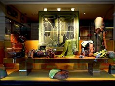 Hermès Paris ~ window displays