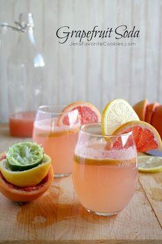 Grapefruit Soda