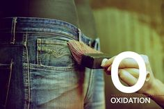 The Replay denim alphabet. O as in Oxidation.