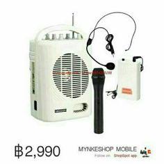 ขาย DECCON PWS-210U เครื่องเสียงพกพา ลำโพงพกพา ช่วยสอน USB / SD และเล่น MP3 / FM ในราคา ฿2,890 ซื้อได้ที่ Shopee ตอนนี้เลย!http://shopee.co.th/mynke.com/2382862  #ShopeeTH