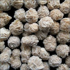 Roses des sables The Selenite Desert Rose has many different names, such as Sand Rose, Rose Rock, Selenite Rose, Gypsum Rose, and Gypsum Rosettes. Almost all Desert Roses are most commonly found made...