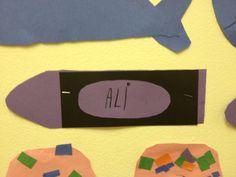 Harold and the purple crayon craft- Mrs. Hodge and Her Kindergarten Kids