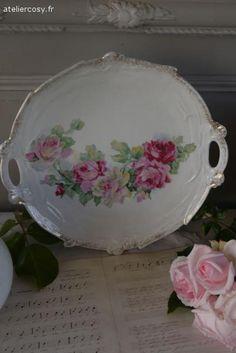 Vaisselle ancienne Brocante de charme atelier cosy.fr