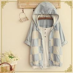 Buy Fairyland Hooded Check Shirt at YesStyle.com! Quality products at remarkable…