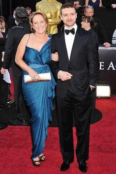 2011~Justin Timberlake & Mom