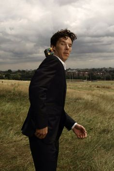 Love this shot and chances are I've pinned it before. But who cares? It's Benedict Cumberbatch!