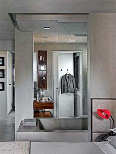Apartamento con un solo tono de gris