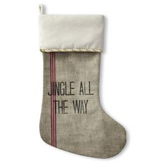 Jingle All The Way Stocking