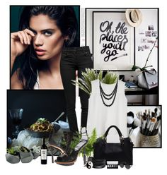 """""""Sara Sampaio"""" by rfultrastars ❤ liked on Polyvore featuring Proenza Schouler, Børn, Dot & Bo, Jocelyn, Y-3, Essie, Pieces, Bling Jewelry, Laura Mercier and Accessorize"""