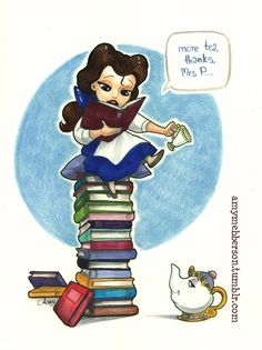 Belle, Tea, and Books - Happy National Novel Writing Month! #nanowrimo