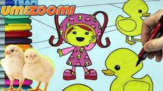 Team Umizoomi Coloring Page Eposide 8 - MILLI and Chick Coloring Book fo...