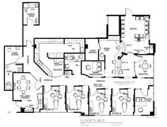 Dental office design floor plans nine chair dental office cosmetic and specialized dentistry sample floor plans from to sq malvernweather Choice Image