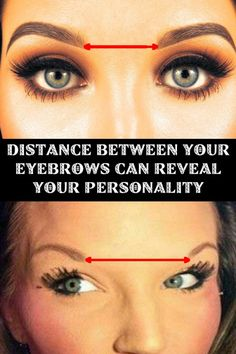 Distance between your Eyebrows can Reveal your Personality