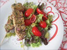 Spiedini di tonno rosso al sesamo - Ricette di cucina Il Cuore in Pentola