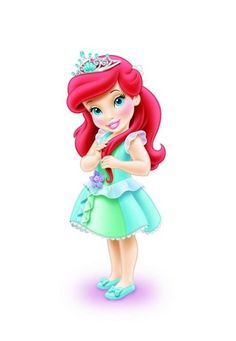 I LOVE the Little Mermaid so much and Arial as a toddler is SOO cute.
