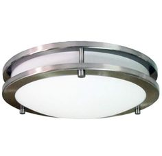 View the HomeSelects International 6500 Saturn LED Energy Star Flush Mount Indoor Ceiling Fixture at LightingDirect.com.
