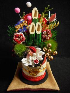 門松 【送料無料】 2x Chinese New Year Decorations, New Years Decorations, Decor Crafts, Diy And Crafts, Arts And Crafts, Japanese Design, Japanese Art, Japanese Style, Japan Flower