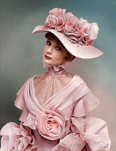 Audrey Hepburn as Eliza Doolittle. She is the epitome of beauty. They could not have picked a better person for the role.