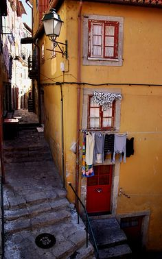 Lisbon old quarter, Portugal Porto Portugal, Visit Portugal, Spain And Portugal, Portugal Travel, Beautiful Places To Visit, Oh The Places You'll Go, Travel Around The World, Around The Worlds, Magic Places
