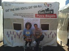 Relaxing by our tent!   #rachelspizzabagels #veganpizza #pizza #veganoktoberfest