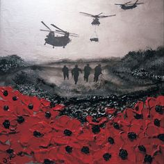 """Poppy Appeal Remembrance Day picture """"Remembered, By Day and By Night"""" By Jacqueline Hurley Port Out, Starboard Home POSH Original Art War Poppy Collection Remembrance Day Pictures, Remembrance Day Poppy, Remembrance Day Drawings, Remembrance Tattoos, Ww1 Art, Gcse Art Sketchbook, Armistice Day, Anzac Day, 1 Tattoo"""