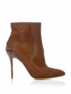 Maison Martin Margiela Calf hair ankle boots on shopstyle.com.au