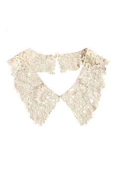 All-over Lace Detachable Collar