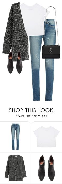 """Untitled #13200"" by alexsrogers ❤ liked on Polyvore featuring Yves Saint Laurent and Closed"