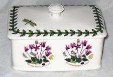 Portmeirion Botanic Garden Covered Treasure BOX  NEW