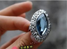 Western Fashion Rhinestone Ring on BuyTrends.com, only price $4.49
