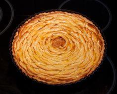 Recept voor appeltaart met frangipane