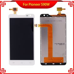 31.05$  Buy here - http://alieq8.shopchina.info/go.php?t=32703257409 - New Brand LCD Display Touch Panel For Pioneer S90W S90 Touch Screen White Color For Prestigio PAP 5044 Mobile Phone LCDs   #buyininternet