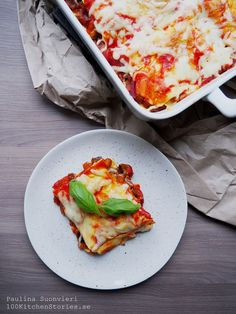 Vegetarian Lasagna with Eggplant and Fresh Basil | 100 KITCHEN STORIES