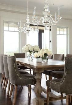 Dining Room Decor Formal Best Formal Dining Room Design And Decor Ideas . Pretty Formal Dining Room By Diane Durocher Interiors . Home and Family Elegant Dining Room, Dining Room Design, Dining Room Furniture, Dining Rooms, Furniture Design, Furniture Ideas, Classic Dining Room, Wicker Furniture, Plywood Furniture