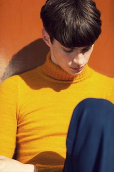 Matthew Bell at Elite Models by Cecilie Harris for Fashion156. Fashion direction by Guy Hipwell.