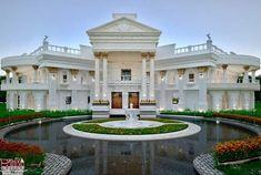 قصر الحمامه البيضاء احدى تصاميم المهندس العراقي سامر ديوان Exterior, Mansions, House Styles, Home Decor, Decoration Home, Manor Houses, Room Decor, Villas, Mansion