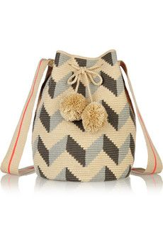 Sophie Anderson Lilia crocheted cotton shoulder bag | NET-A-PORTER