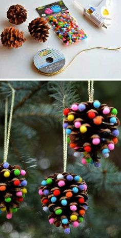 Top 30 Lovely and Cheap DIY Christmas Crafts Sure to Wow You Again, it is . - edeber - Top 30 Lovely and Cheap DIY Christmas Crafts Sure to Wow You Again, it is that joy time of th - Cute Christmas Gifts, Christmas On A Budget, Cheap Christmas, Christmas Crafts For Kids, Handmade Christmas, Beautiful Christmas, Summer Crafts, Holiday Crafts, Thanksgiving Crafts