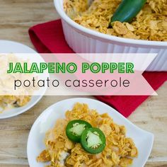 Take your potato casserole to the next level with this spicy rendition called Jalapeño Popper Potato Casserole! It's the side dish you've been waiting for. Corn Pudding Casserole, Easy Corn Pudding, Corn Pudding Recipes, Cereal Recipes, Potato Casserole, Casserole Dishes, Casserole Recipes, Quick And Easy Appetizers, Quick Meals