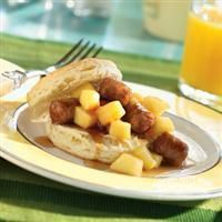 Apple Sausage #Shortcakes from Martha White®