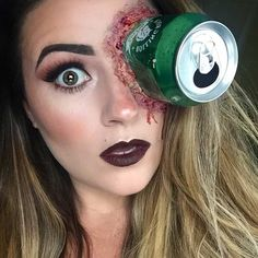 Scary Can SFX Makeup Look for Halloween