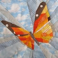 Quilting : BUTTERFLY BLOCK