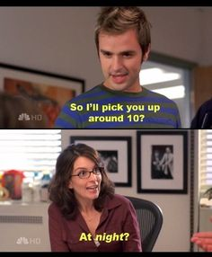 This is exactly how getting older feels, Liz Lemon. - Imgur