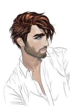 anime man with beard - google
